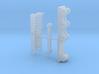 HO 1:87 excavator thumb 3d printed