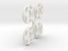 S04-SI1 4WD Wheel Inserts Audi Speedline Rally 3d printed