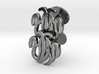 Initial Cufflinks 3d printed