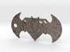 Super-Bat Keychain 3d printed