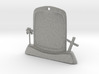 Halloween Keychain/Pendant Tombstone 3d printed