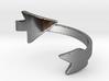 Infinity Arrow Ring  3d printed