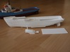 MV Anticosti Hull, Decks and GillJet (RC, 1:200) 3d printed parts of the printed set