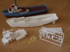 MV Anticosti, Details 2/2  (1:200, RC ship) 3d printed overview of prints for complete model