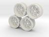Rim Walker Evans stock offset - Losi McRC/Trekker 3d printed