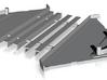 Muldenteile 1cbm Kipplore IIf 3d printed