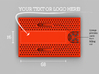 Business card case - CUSTOMIZE! 3d printed Info