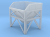 N Scale Aggregate Hopper Small 3d printed