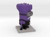 Evil Minion Purple Despicable Me 3d printed