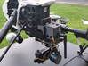 Gimbal Mount plate for DJI Inspire 1 3d printed