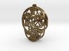 Day of the Dead Skull Earrings 3d printed