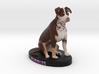 Custom Dog Figurine - Bubbles 3d printed