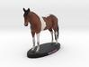 Custom Horse Figurine - Magpie 3d printed