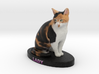 Custom Cat Figurine - Lady 3d printed