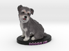 Custom Dog Figurine - Doggie 3d printed