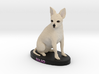 Custom Dog Figurine - Sujo 3d printed