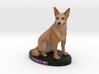 Custom Dog Figurine - Cowgirl 3d printed