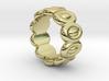Elliptic Ring 26 - Italian Size 26 3d printed