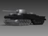 1/200 JN-129 Hull and Rear Tracks 3d printed