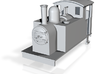 009 side tank loco  3d printed
