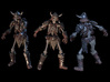 SL01-Arms-02  7inch 3d printed Complete Warrior set render, only arms are included
