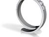 Konami code ring 3d printed