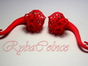 """Plugs / gauges The  lotus flower / size 3/8 """" 10mm 3d printed"""