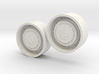 1/64 scale Tractor Rear Planetary Wheels 3d printed
