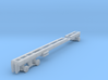 1/87th Long Oilfield  Bed truck frame 3d printed