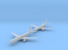1/700 757-200 w/gear x2 (FUD) 3d printed