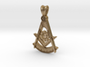 (Small)PAST MASTER PENDANT 3d printed