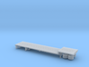 1/160 48' Dropdeck Flatbed Semi Trailer 3d printed