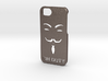 iPhone hard case ''Anon On Duty'' 3d printed