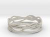 Ring Design 01 Ring Size 9.5 3d printed