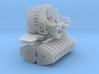 Motoreinheit, Ballastgrundplatte, 170t Ballast und 3d printed
