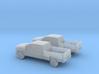 1/200 2X 2015 Chevrolet Silverado 3d printed