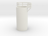 'N Scale' - 10' Distillation Tower - Middle-Left 3d printed
