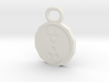 Dudeist Pendant (Heads on Both Sides) 3d printed
