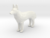 Zeus the Wolf 3d printed