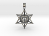 MERKABAH (pendant) 3d printed