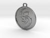 Flicker Symbol 3d printed