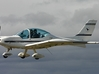 Texan Top Class Light Aircraft  1/87  3d printed