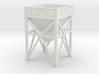 N Scale Aggregate Hopper #1 3d printed