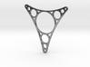 Triangular Necklace Piece 3d printed