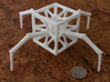 Aracno-Hedron 3d printed White Strong & Flexible Polished