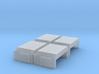 EMD Angled Air Filter Hatch (N - 1:160) 4X 3d printed