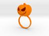 Pumpkin ring - Size 8 3d printed