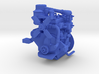 1:6 Continental Bantam Engine for 1:6 Jeep 3d printed