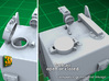 IDF M2 External Fueltanks (1:35) (2x) 3d printed IDF M2 external fueltanks - fuel caps