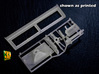 IDF 30cal MG window mount (1:35) (2x) 3d printed M2/M3 IDF MG window mount - actual print